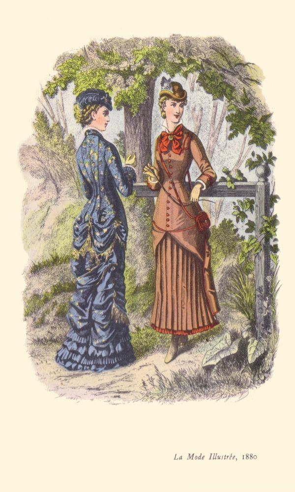 1880s in Western fashion