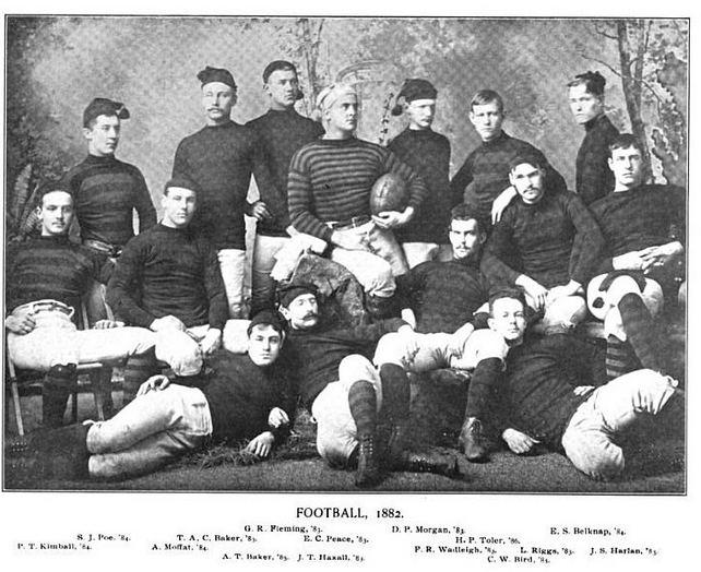 1882 Princeton Tigers football team