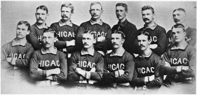 1885 Chicago White Stockings season