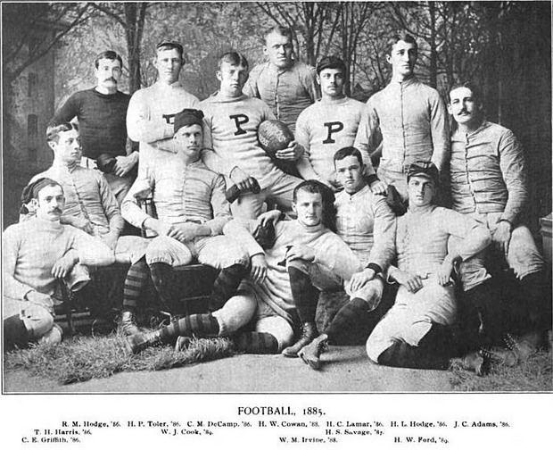 1885 college football season