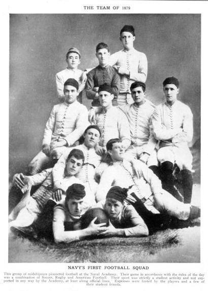 1885 Navy Midshipmen football team