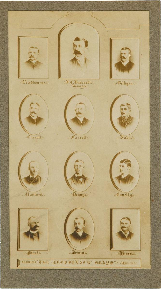 1885 Providence Grays season