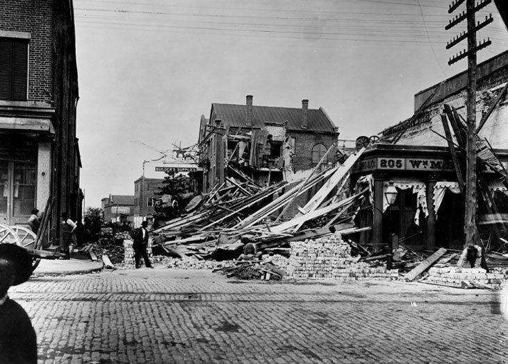 1886 Charleston earthquake Introduction Charleston EarthQuake Exhibit
