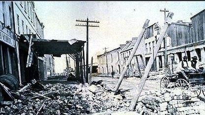 1886 Charleston earthquake Look back Pictures of 1886 Charleston Earthquake
