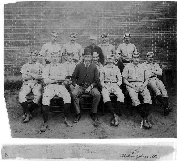 1886 Philadelphia Quakers season