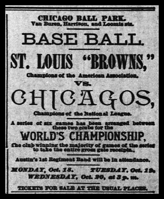 1886 World Series