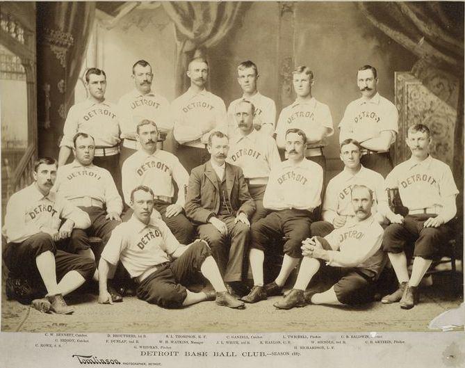 1887 Detroit Wolverines season