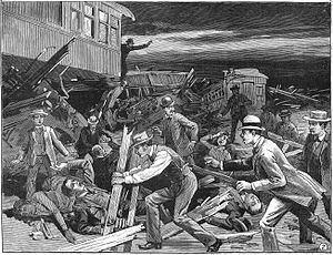1887 Great Chatsworth train wreck httpsuploadwikimediaorgwikipediacommonsthu