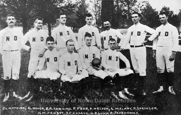 1887 Notre Dame football team