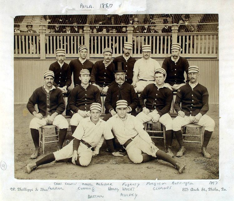 1887 Philadelphia Quakers season