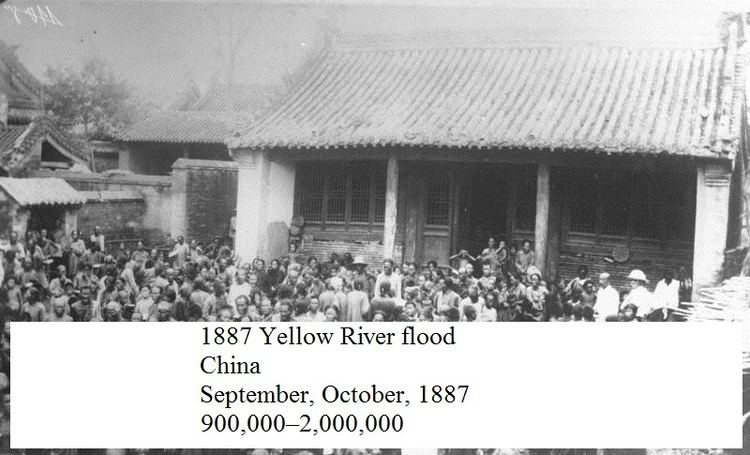 1887 Yellow River flood INNER TOOB WIKIPEDIAPHILE THE YELLOW RIVER FLOOD