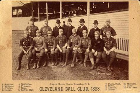 1888 Cleveland Blues season