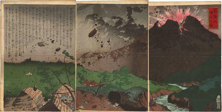 1888 eruption of Mount Bandai