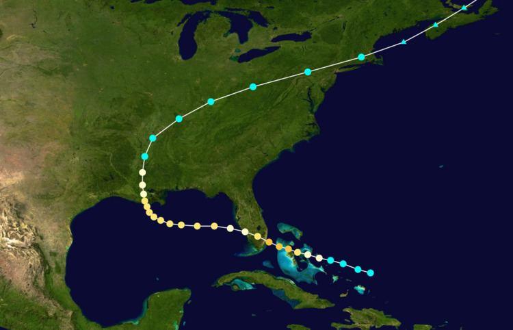 1888 Louisiana hurricane