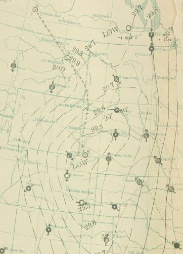 1888 Northwest United States cold wave