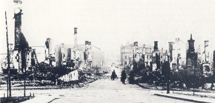 1888 Sundsvall fire