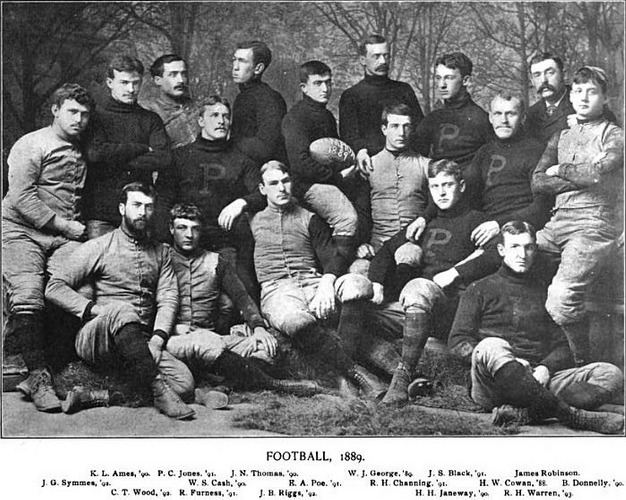 1889 college football season