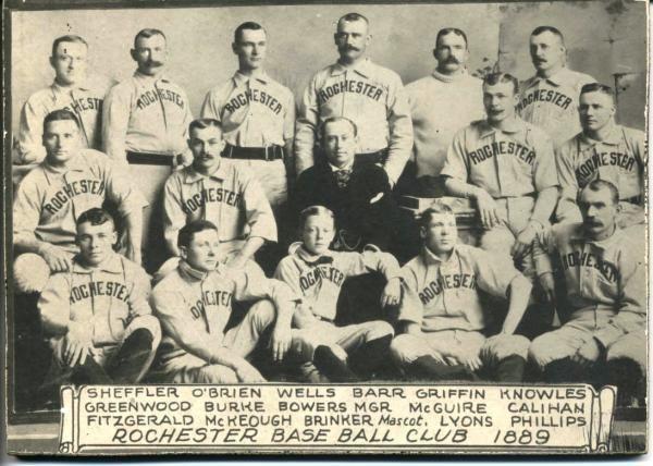 1890 Rochester Broncos season