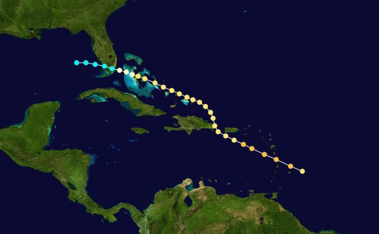 1891 Martinique hurricane