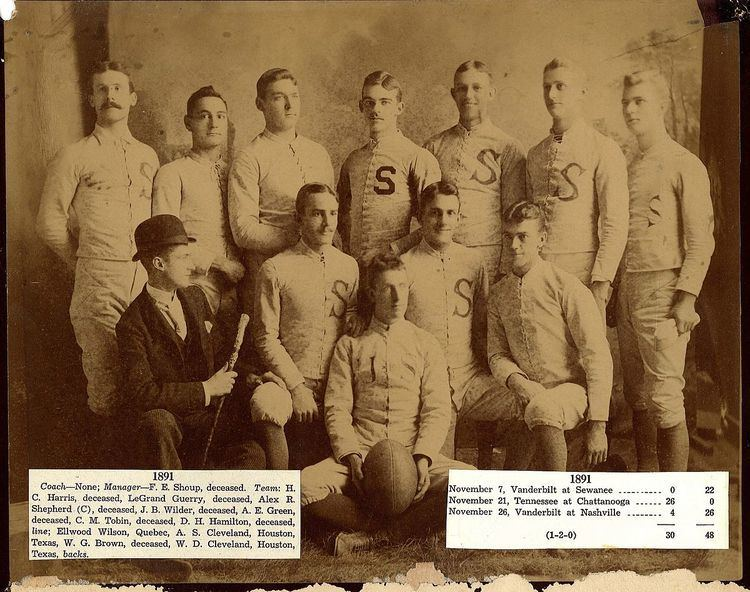 1891 Sewanee Tigers football team