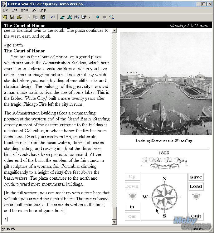 1893: A World's Fair Mystery wwwmyabandonwarecommediascreenshots091893a