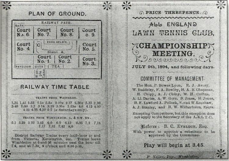 1894 Wimbledon Championships