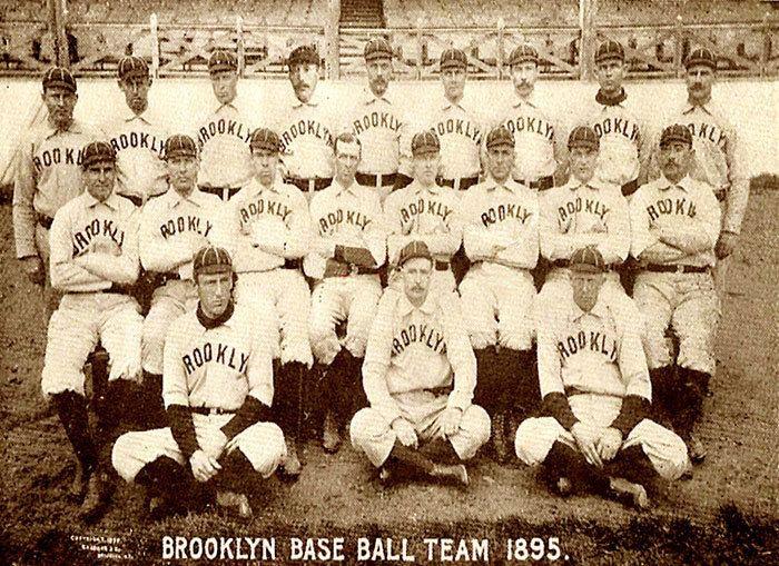 1895 Brooklyn Grooms season