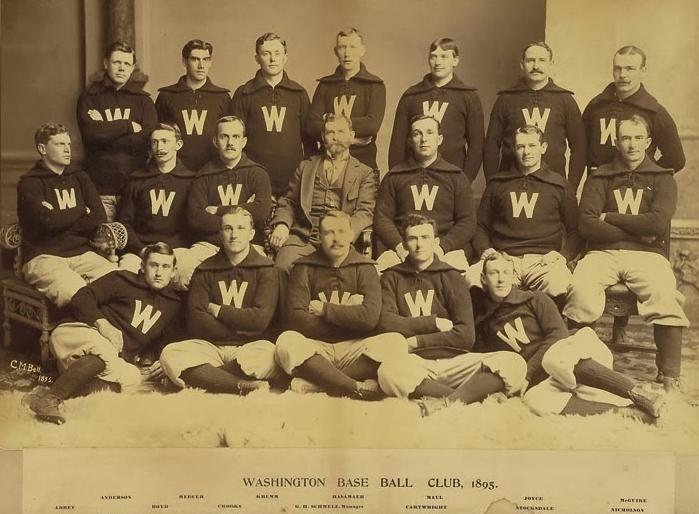 1895 Washington Senators season