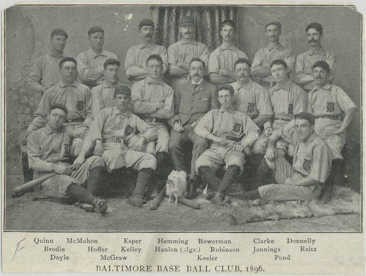 1896 Baltimore Orioles season