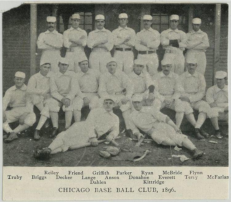 1896 Chicago Colts season