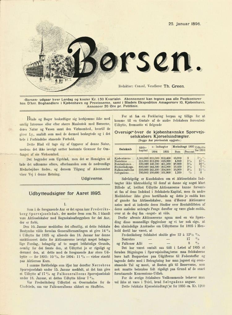 1896 in Denmark