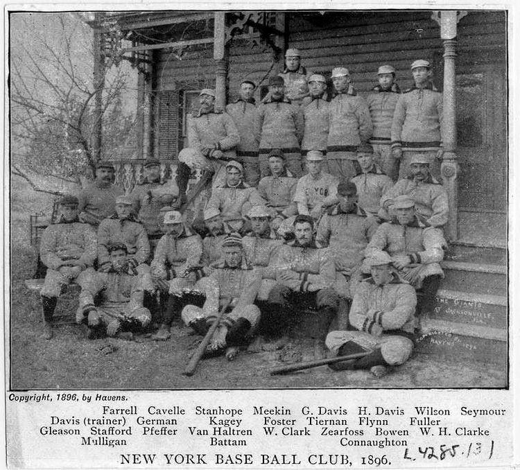 1896 New York Giants season