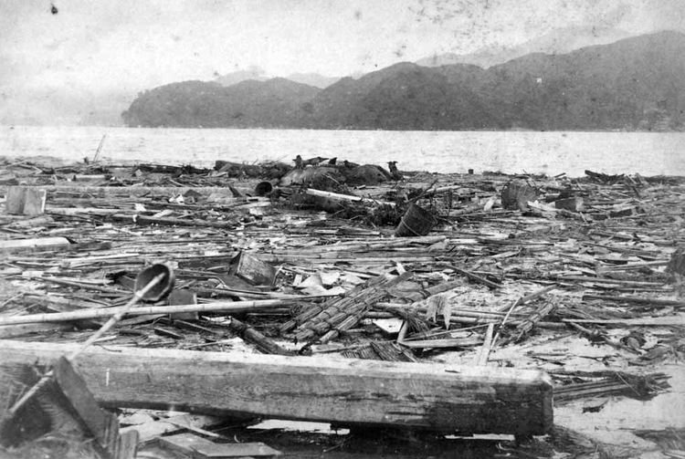 1896 Sanriku earthquake FileMeijiSanriku earthquake 06jpg Wikimedia Commons