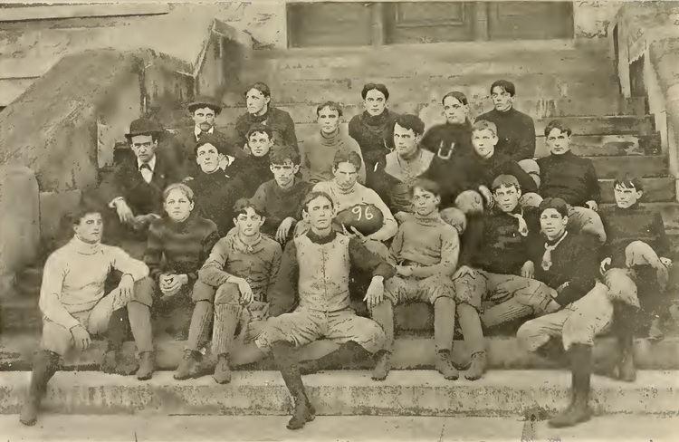 1896 Tulane Olive and Blue football team