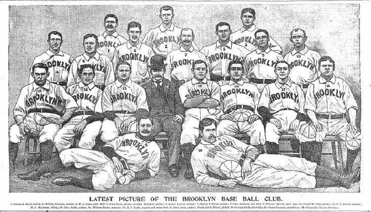 1897 Brooklyn Bridegrooms season