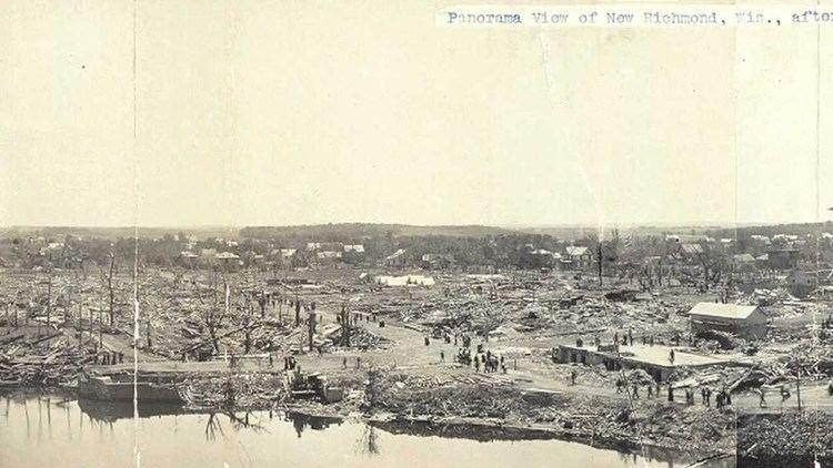 1899 New Richmond tornado Weather History 1899 New Richmond Tornado YouTube