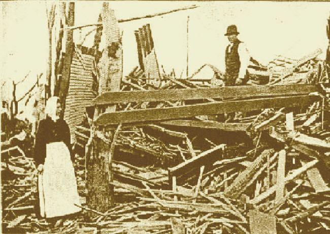 1899 New Richmond tornado New Richmond WI Tornado Jun 1899 GenDisasters Genealogy in
