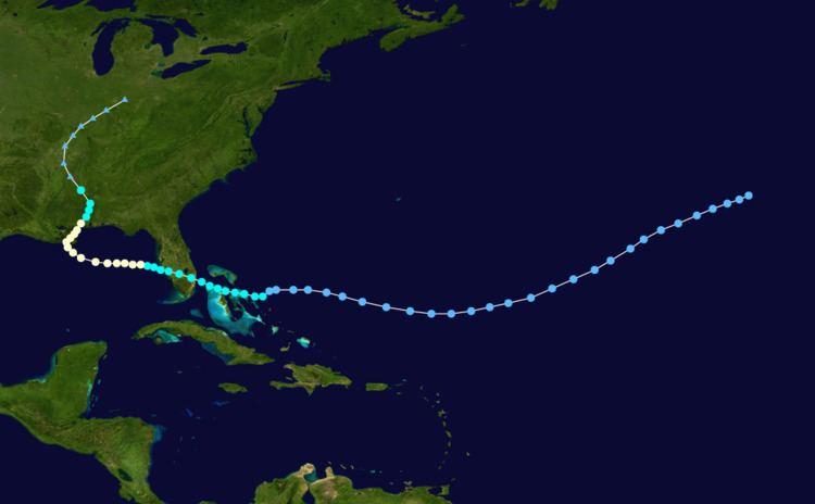 1901 Louisiana hurricane