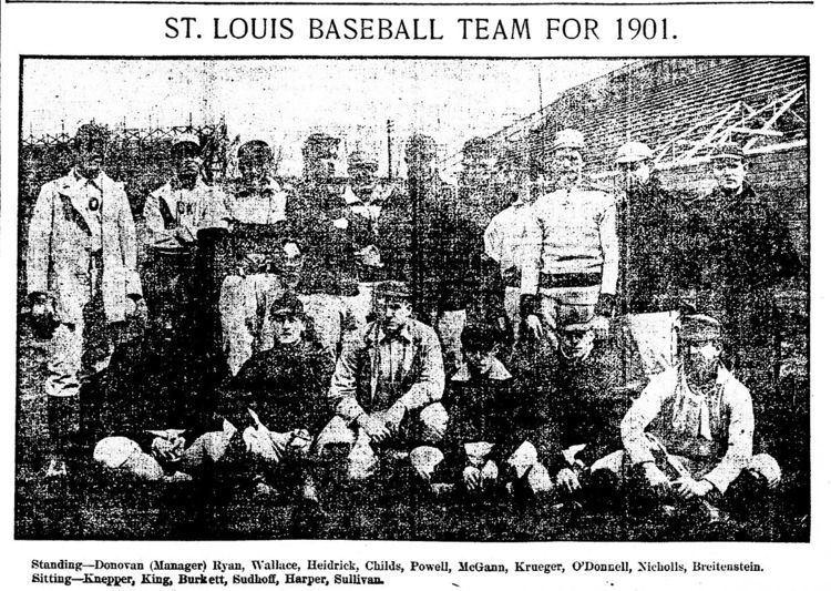 1901 St. Louis Cardinals season