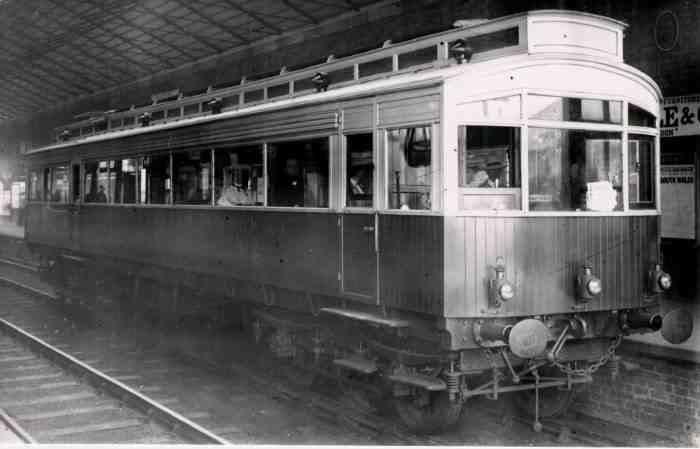 1903 Petrol Electric Autocar