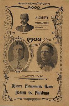 1903 World Series httpsuploadwikimediaorgwikipediacommonsthu