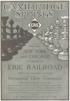 1904 Cambridge Springs International Chess Congress