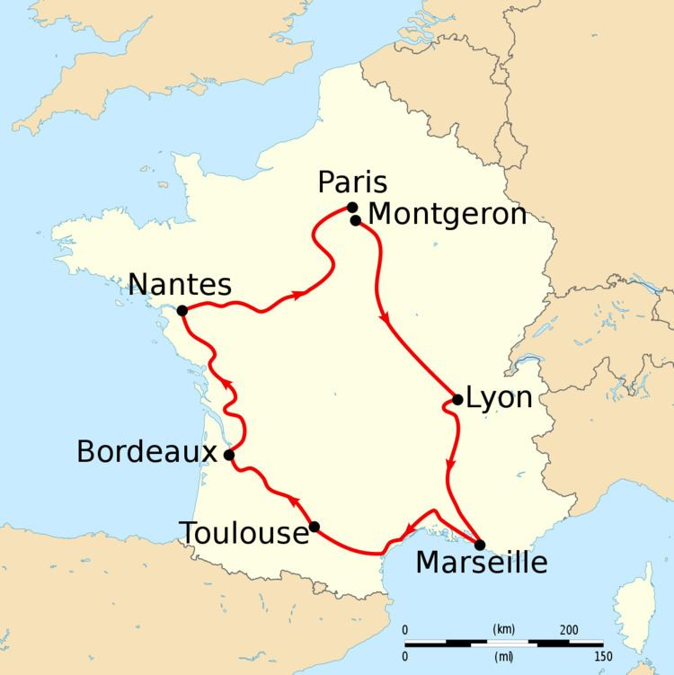 1904 Tour de France, Stage 4 to Stage 6