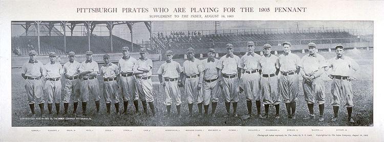 1905 Pittsburg Pirates season