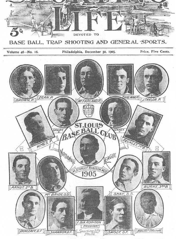1905 St. Louis Cardinals season