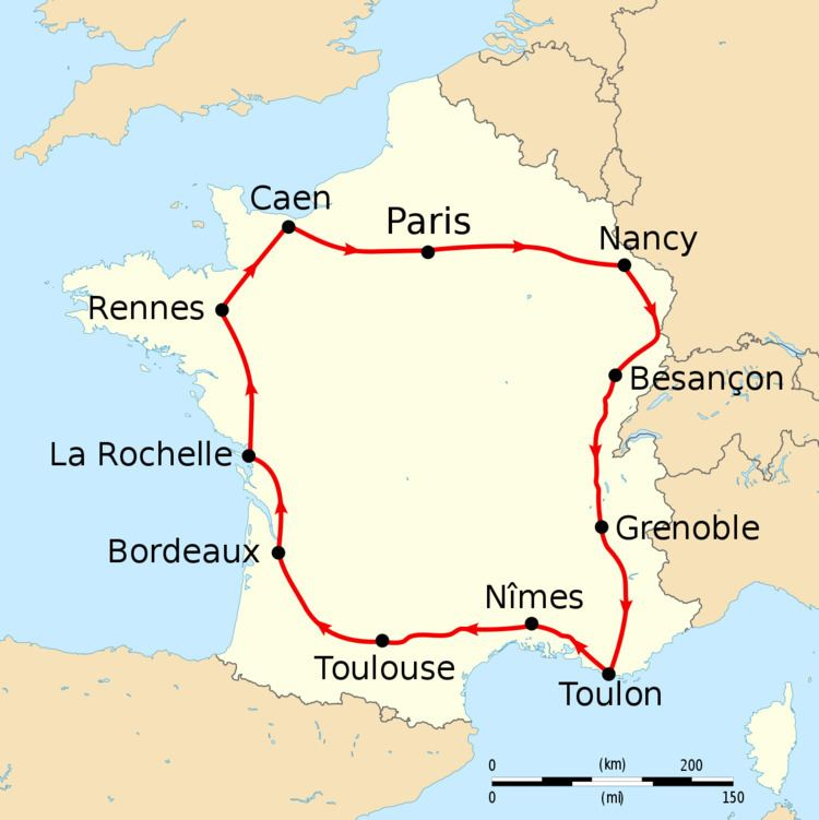 1905 Tour de France, Stage 7 to Stage 11