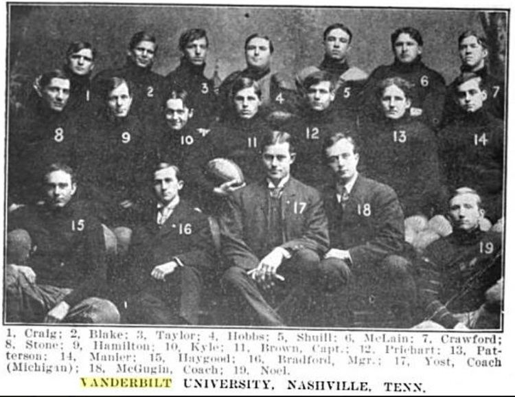 1905 Vanderbilt Commodores football team