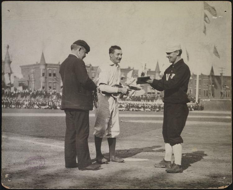 1905 World Series John McGraw and Philadelphia Athletics player Columbia Avenue
