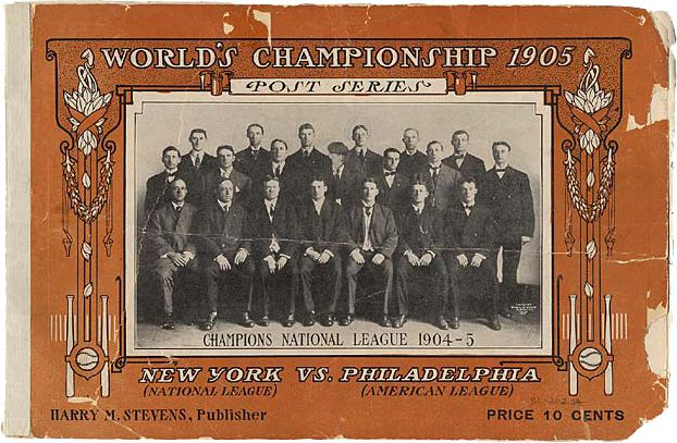 1905 World Series A39sGiants a Rematch of 1905 World Series Philly Sports History