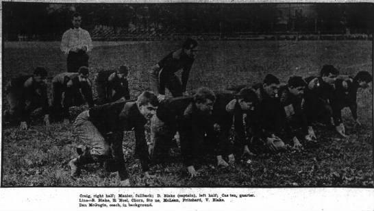 1906 Carlisle vs. Vanderbilt football game